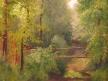 Vyschlý potok v Horní Vsi u Bělohradu