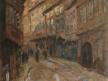 Motiv ze staré Prahy