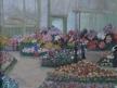 Květinový salon v Paříži